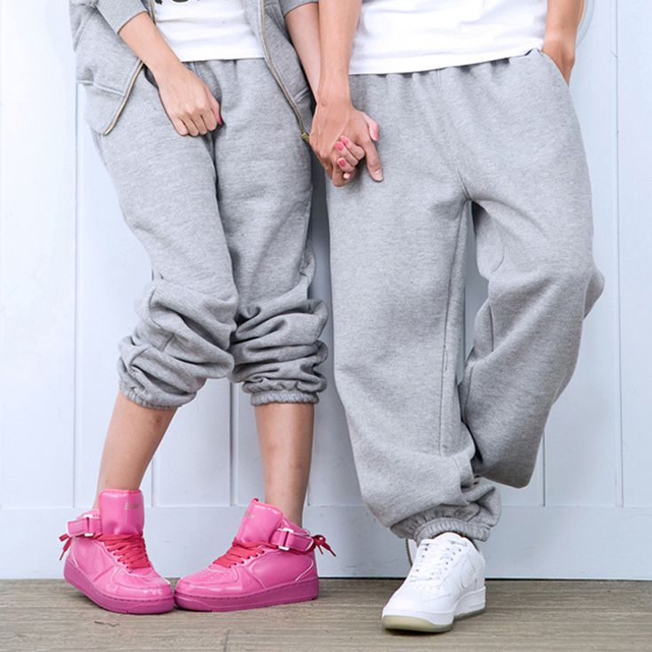 Fashion brand casual winter swag baggy gym gasp outdoors Casual women drop crotch joggers pants men hip hop parkour sweatpants #Affiliate