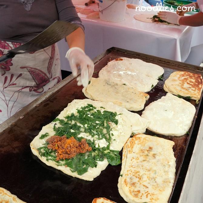 Turkish gozleme Campsie Food Festival | http://www.campsiefoodfestival.com.au