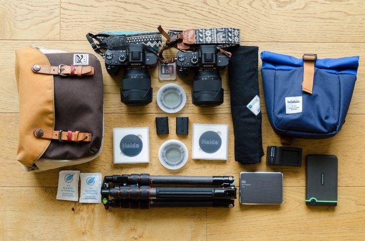 Unsere Fotografieausrüstung