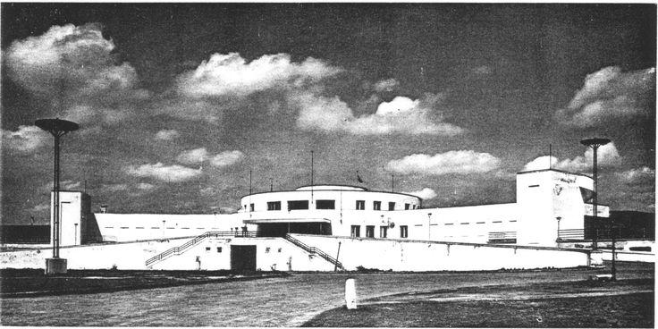 Budaörs, közforgalmú repülőtér, dr. Bierbauer (Borbíró) Virgil és Králik László, 1935-37.