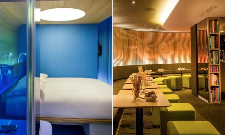 """Conheça o hotel que tem decoração inspirada no filme de Kubrick """"2001 – Uma Odisséia no Espaço"""""""