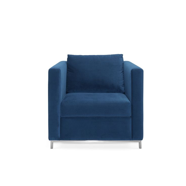 Anna Armchair | Laskasas | Decorate Life | www.laskasas.com | Living Room Decor Ideas |   Anna is a rectangular upholstered armchair with a minimalistic design. Combining the quality of the materials with a traditional but modern design.
