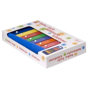 Halilit  Baby Xylophone with bright rainbow colours. Accurately tuned with beautiful tone.