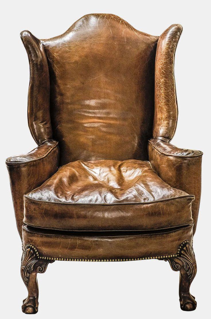 Modern queen anne furniture - Pair Of Queen Anne Style Armchairs