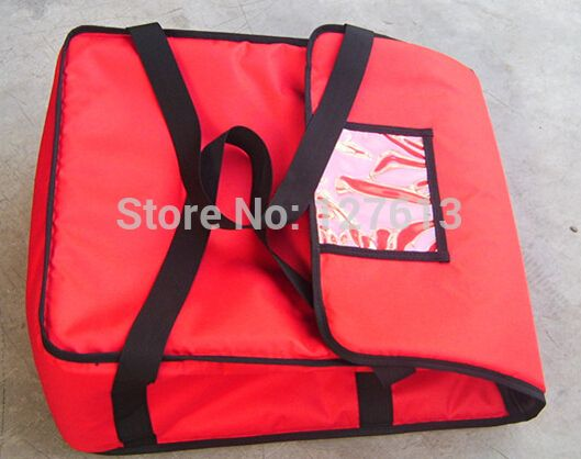 """Pizza delivery bag for FIVE 17-18"""" pizza boxes  hot style Thermal insulation bag Pizza thermal insulation bag"""