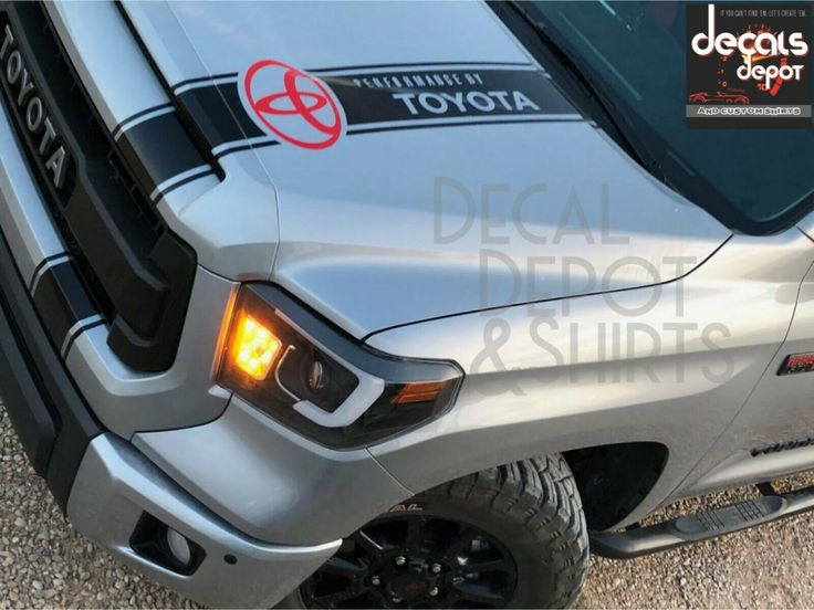 Hood Decal for Toyota TRD Sport Sticker Graphics