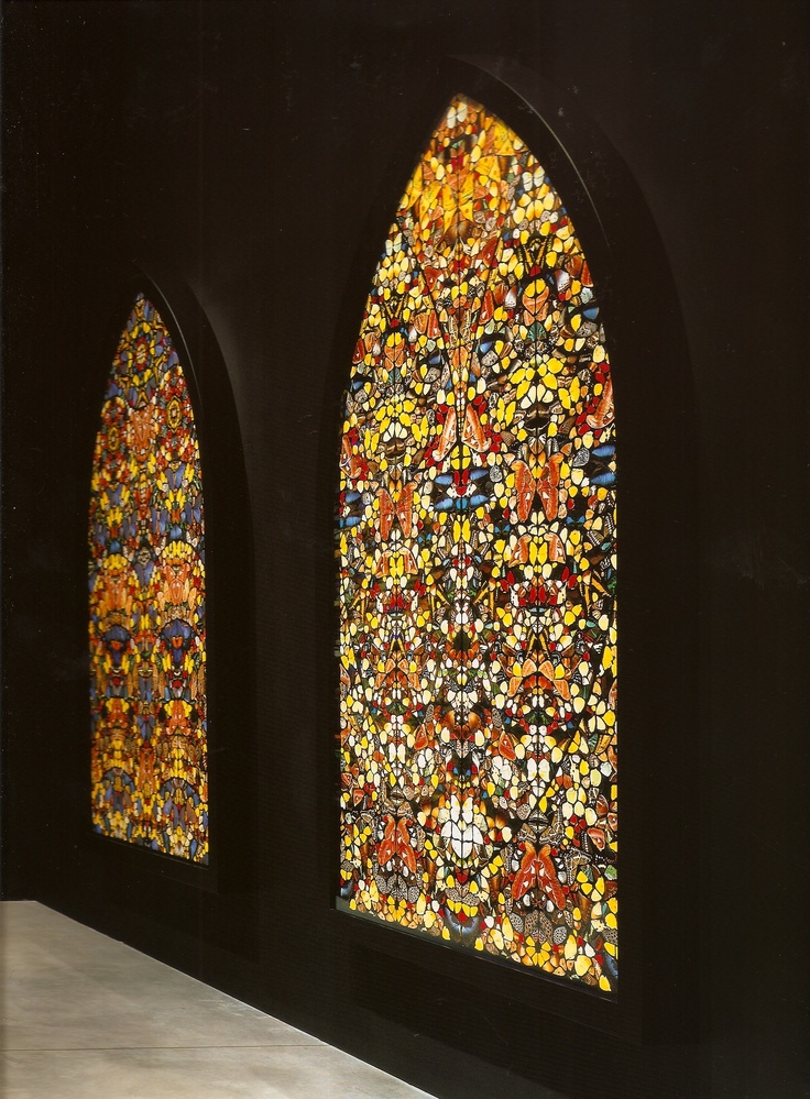 Butterfly Stainglass, Damien Hirst