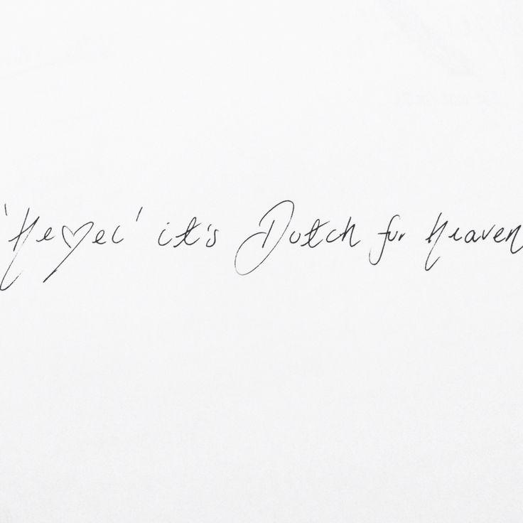 'Hemel' it means heaven. Heavenly scented candles