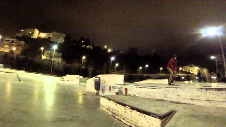 Gopro go to skateboarding bola de oro noches for Piscina bola de oro granada