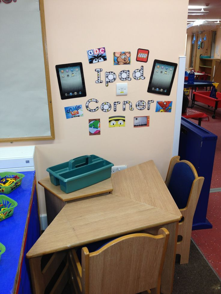 Classroom Ideas Early Years : Best ict corner images on pinterest class displays