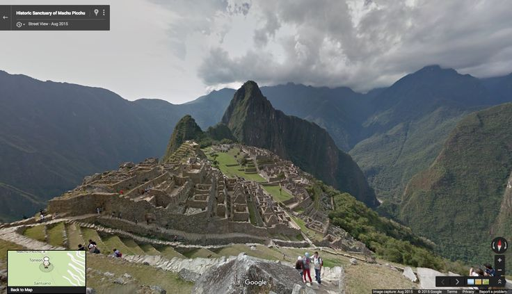 Google Lat Long: Walk the ruins of Peru's most historic site: Machu Picchu