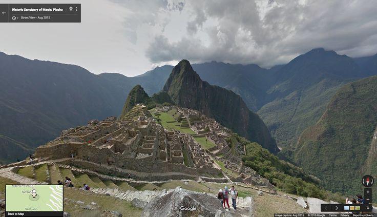 Google Lat Long: Walk the ruins of Peru's most historic site: Machu Picchu