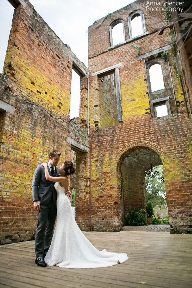 Barnsley Gardens Resort Ruins Wedding