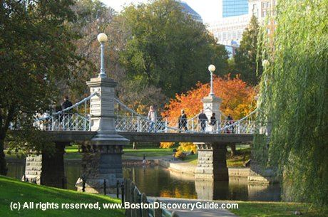 Garden Public Boston Common | Boston Public Garden, Make Way for Ducklings, Swan Boats