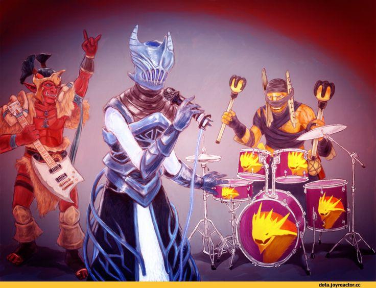 Dota,фэндомы,Rhasta the Shadow Shaman,Jah'rakal the Troll Warlord,Razor (Dota),песочница,Dota Art,Shadow Shaman,Troll Warlord