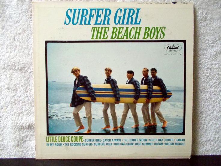 The Beach Boys- Surfer Girl. 1963 Mono Capitol Records vintage vinyl LP 33. Little Deuce Coupe, Catch A Wave, Surfer Girl... by AbqArtistry on Etsy