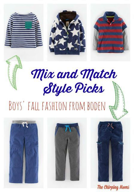 cbeb726a9c Easy Mix and Match styles for boy  MiniBodenBacktoSchool  boden ...