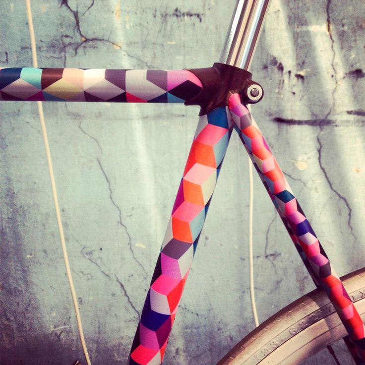 riparare la vostra bicicletta con grafica kit di personalizzazione fai da te di tagmi