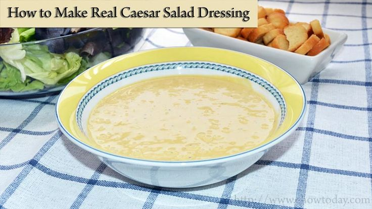 how to make the best caesar salad dressing