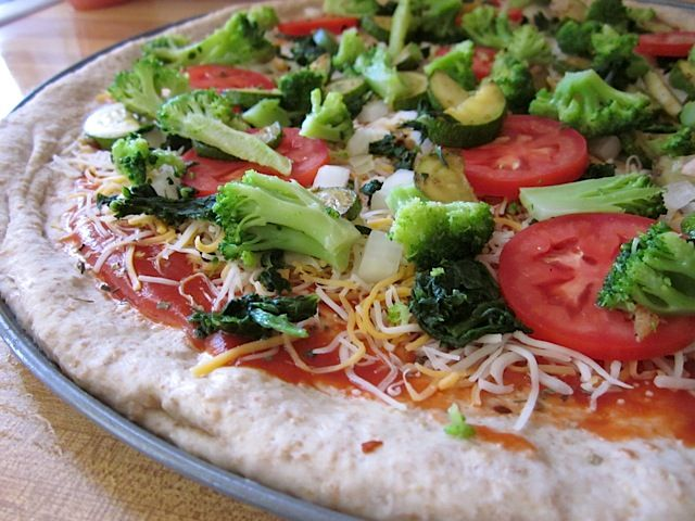 honey wheat pizza dough