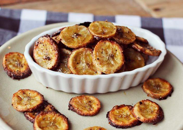 Banana Chips: várias receitas, fritas, assadas, doces e salgadas
