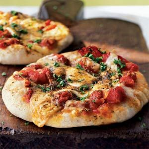 The best homemade pizza - hands down! The dough is AMAZING and the homemade pizza sauce is so herby and delicious! For the cheese I usually use Havarti.