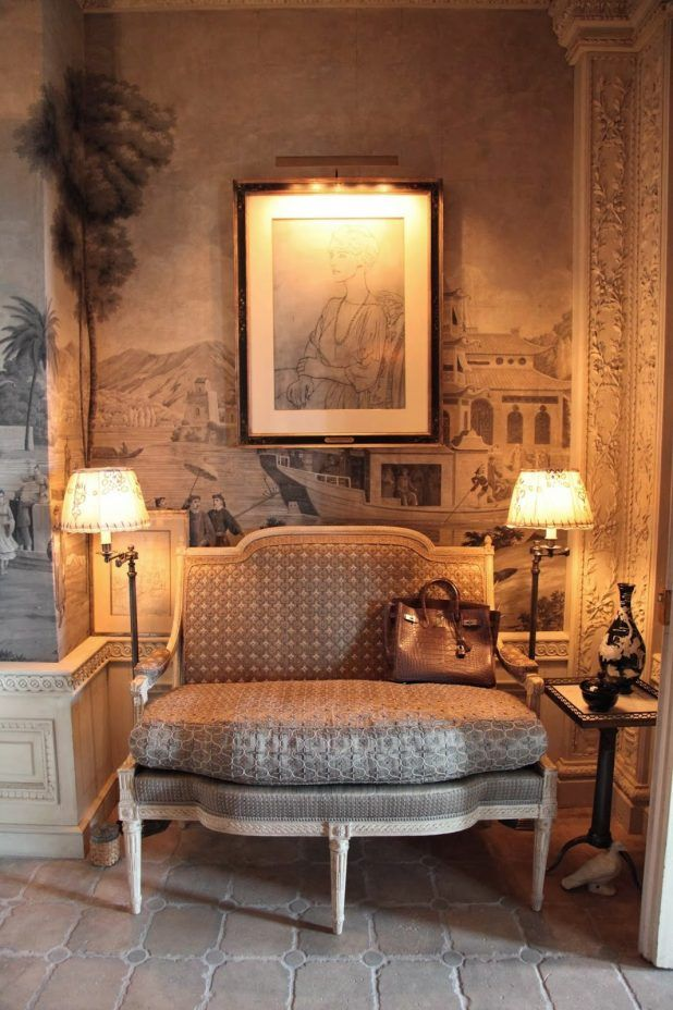 White and beige interior living room scheme charming habitually classy room decorations with vintage style sofa furniture that have comfortable seat cushions and elegant classic floor lamp decorating lighting complete with the side table also beautiful wall pattern paint decorating inspirations