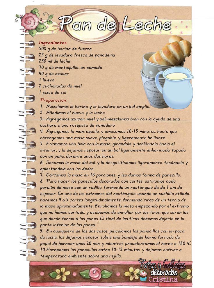 Tartas, Galletas Decoradas y Cupcakes: Pan de Leche