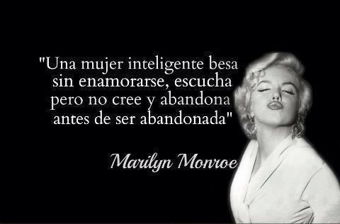 La cita de Marylin Monroe                                                                                                                                                      Más