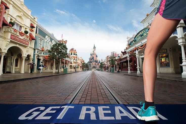 Run a Marathon at Disneyland Paris September 2016