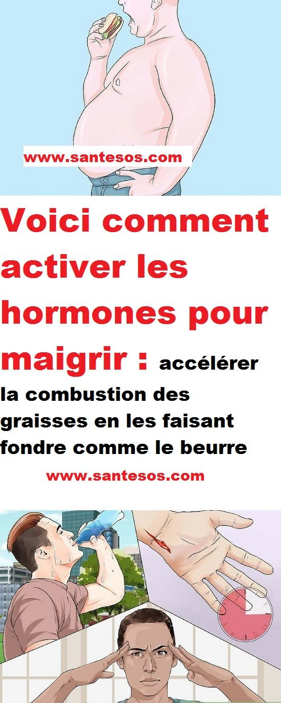 Voici les 4 étapes pour activer les hormones qui brulent les graisses !