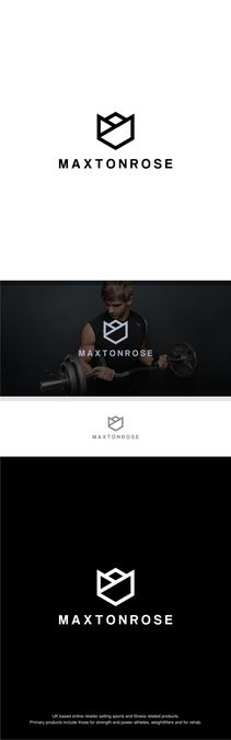 Create a bold logo for a strength and power retail company by radixnala™