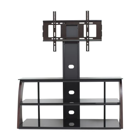 TV Stand with Mount up to 70 inch TVs, Red