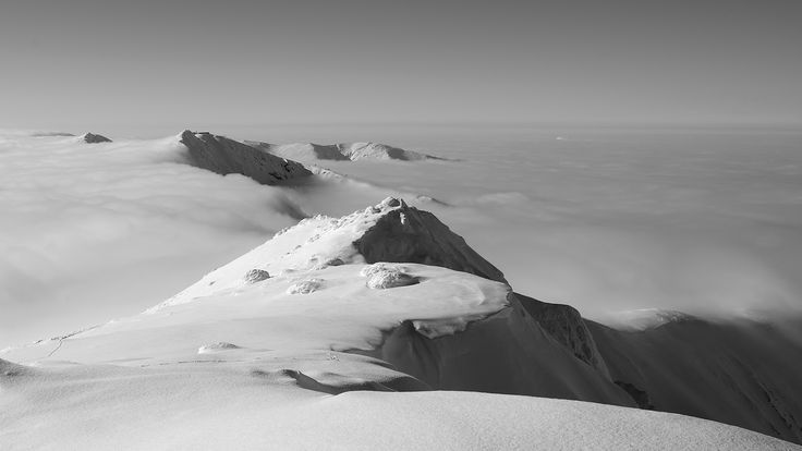 Winter in the Low Tatras.