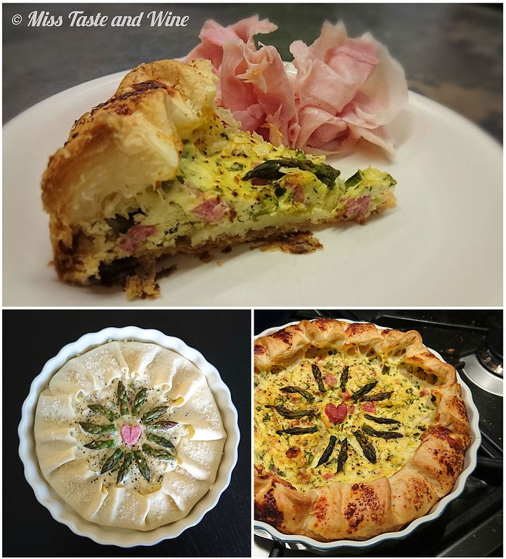 Miss Taste and Wine_South Tyrol - Savoury pie with green asparagus, full recipe on my blog!