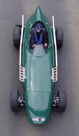 Vanwall GPR V12.  I had a model of this car as a child and fell in love with it then.