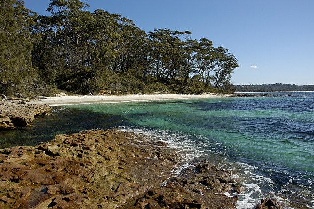 Bristol Point beach, near Greenpatch on the south coast of New South Wales #Australia #travel