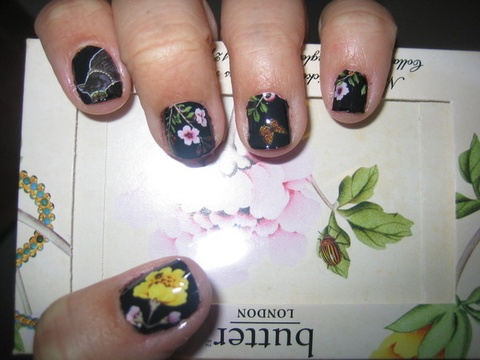 """I'm sort of both highly annoyed and amused about how """"in"""" nail art is now.  Back in the day when I would get random designs done on my feet or toes at the Asian nail salons or if I did my own nail art, it was considered """"tacky,"""" """"low-class,"""" or """"something only ghetto people do"""" - (yes, someone actually said that!)"""