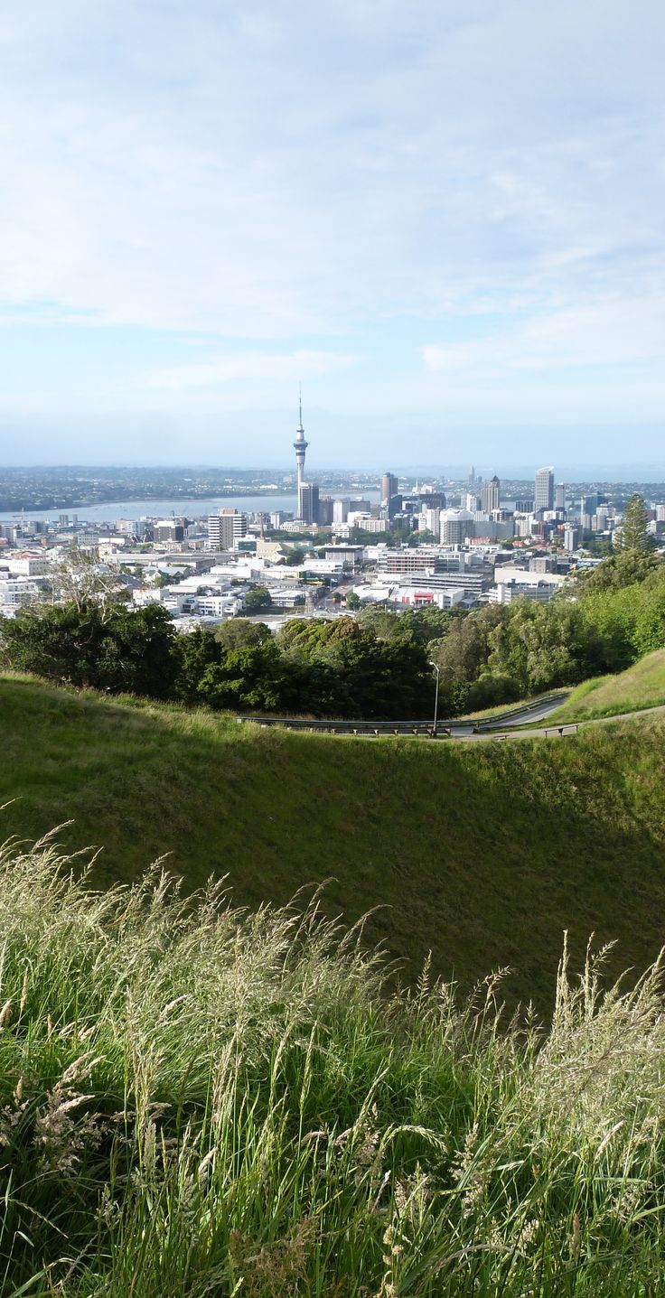 Mount Eden - A bustling suburb and Auckland's highest volcano, NZ