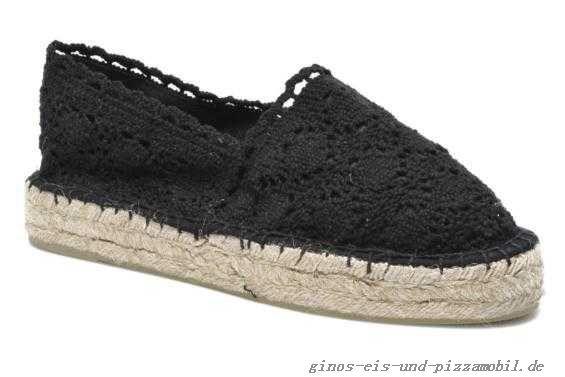 Colors Of California Espadrilles Schuhe Damen Lara Damen Black 36-40