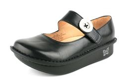 Alegria shoes.  I have two pair now, they are wonderful!  They don't hurt my feet.