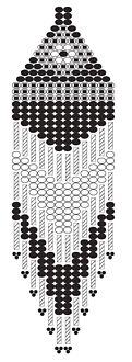 Hex's & 3 cuts are 20% off this week.  Here's an earring pattern for your hers!