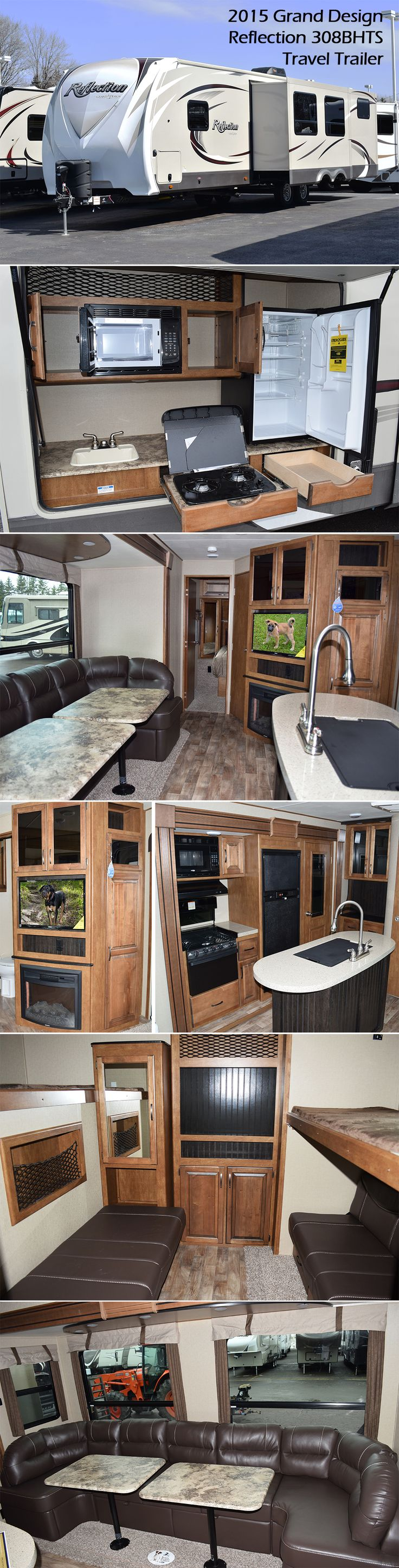308bhts travel trailer by grand design a celebration of luxury