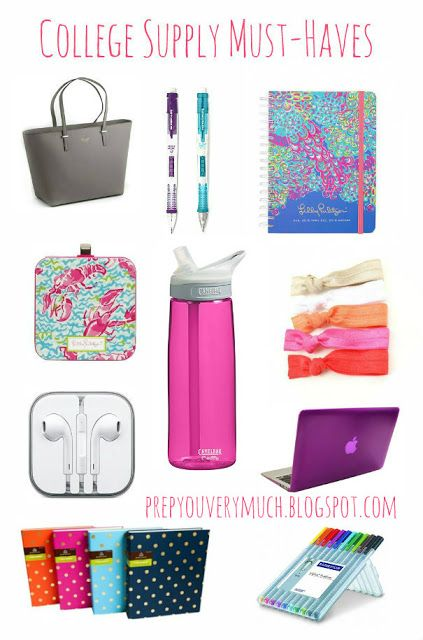 College School Supply Must-haves #College #BackToSchool #Organization