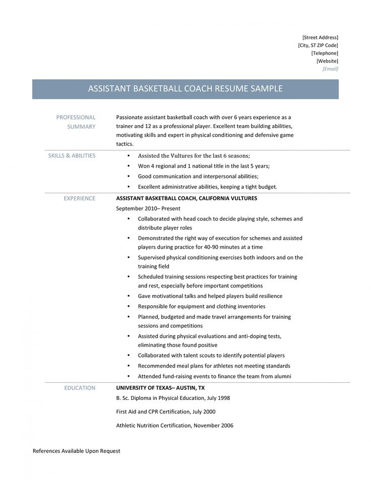 Get our example of coaching job description template for