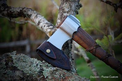 Machado Viking http://oceanofacasartesanais.blogspot.com.br/2016/06/svadilfari-machado-viking.html