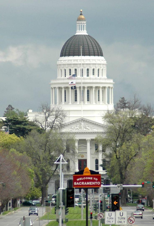 Sacramento, California USA - Welcome