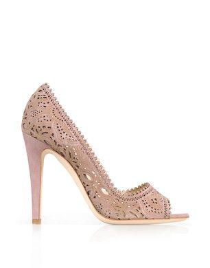 Moschino Laser Cut Shoe