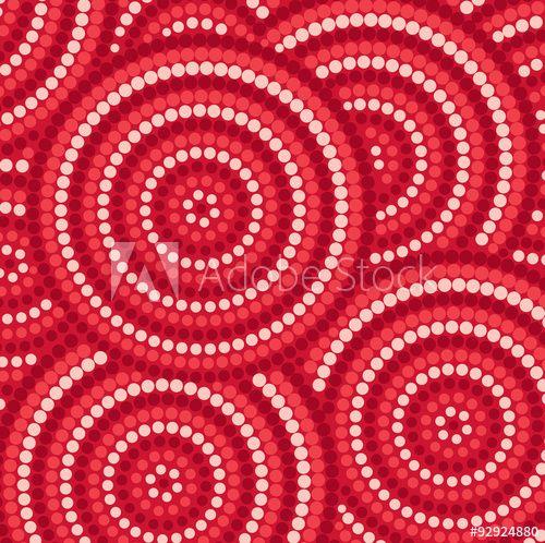 Аннотация аборигенов точка живопись в векторном формате.