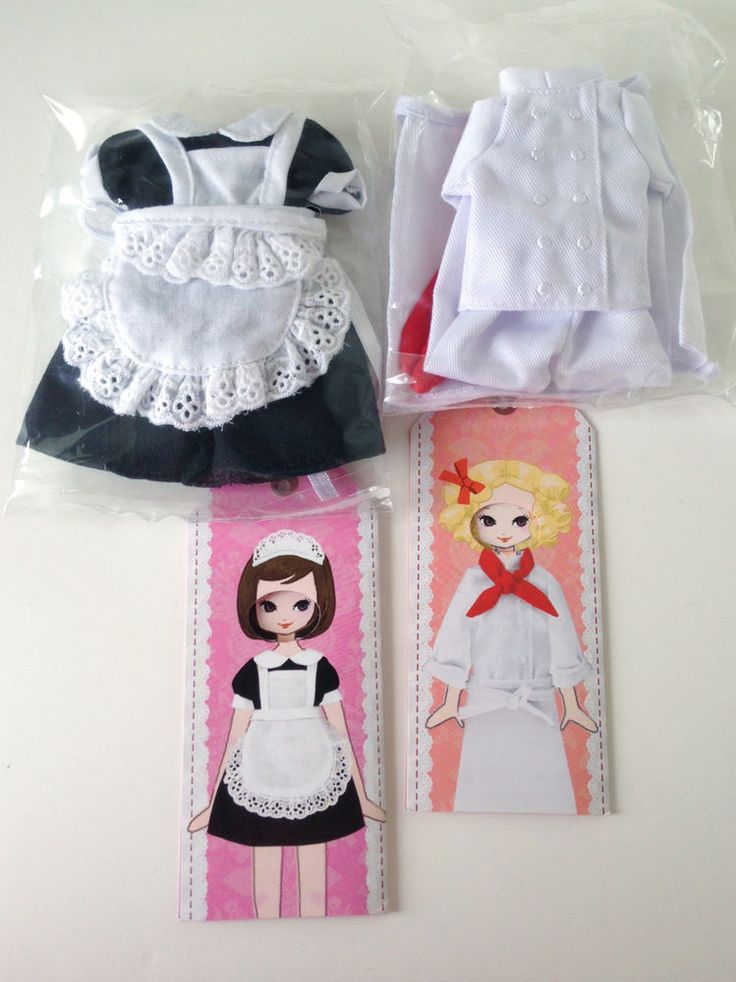 Re-ment Clothes Set: Hotel sisters (chef / maid) (Ref. RE8) #Rement — for sale on Ebay